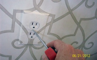 Replace the outlet cover