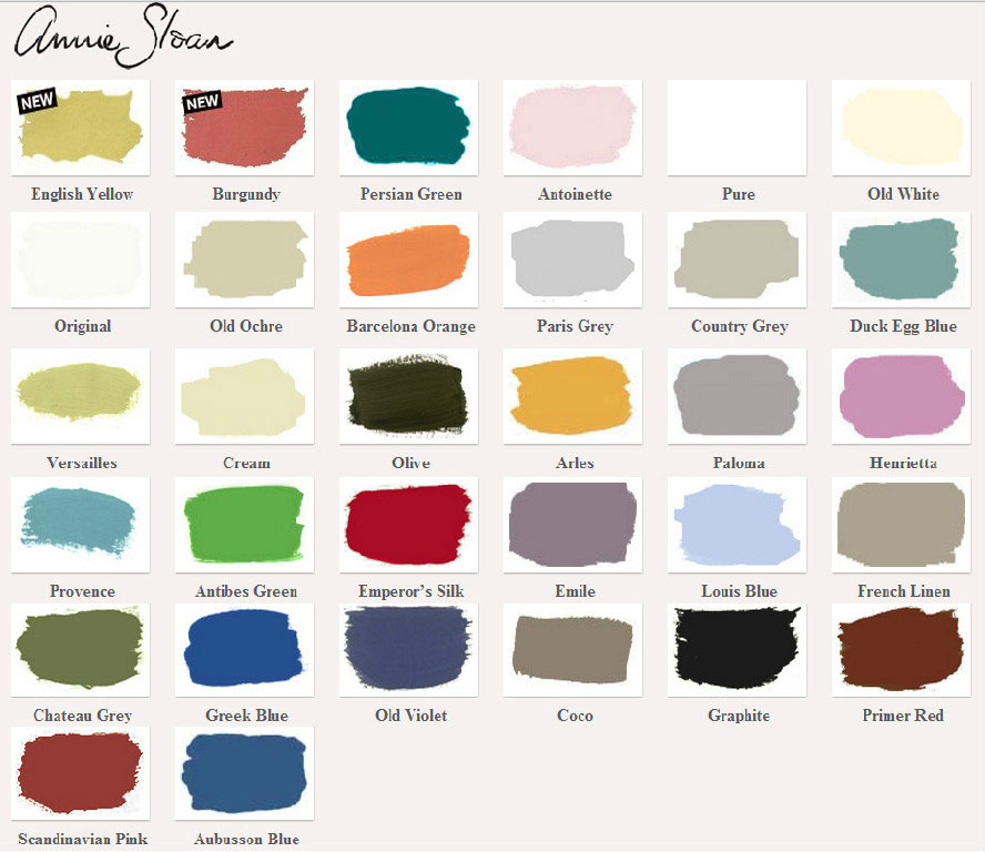 Annie Sloan Chalk Paint Stockist Wallpaper Idaho with  : annie slaon paint pallette from www.wallpaperidaho.com size 888 x 768 jpeg 101kB